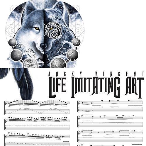 Life Imitating Art Complete Guitar Tablature