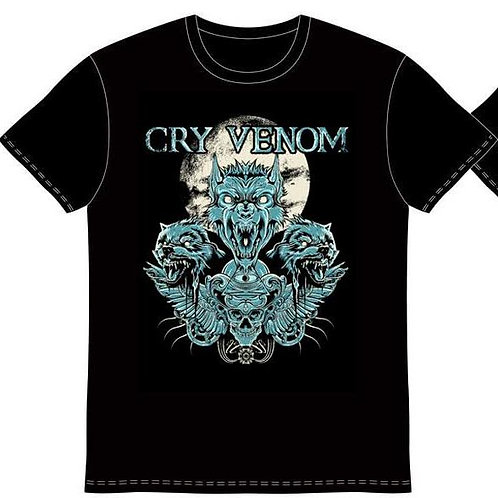 Cry Venom Wolf Shirt