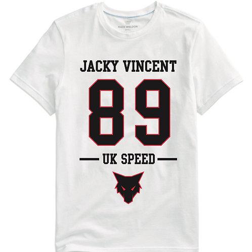 UK Speed  89 White T