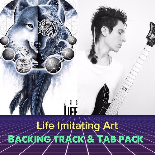 Life Imitating Art Tab & Backing Track Pack