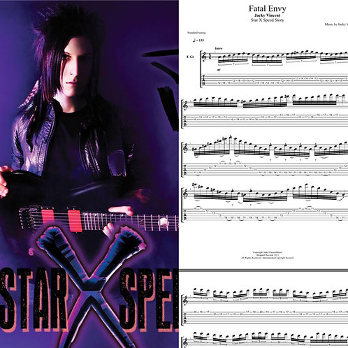 Star X Speed Story Complete Guitar Tablature