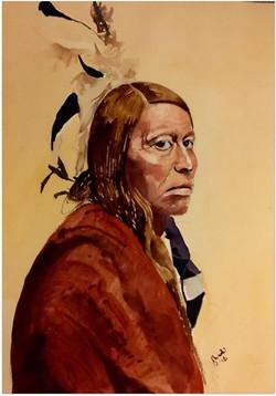 Native American (14X20)