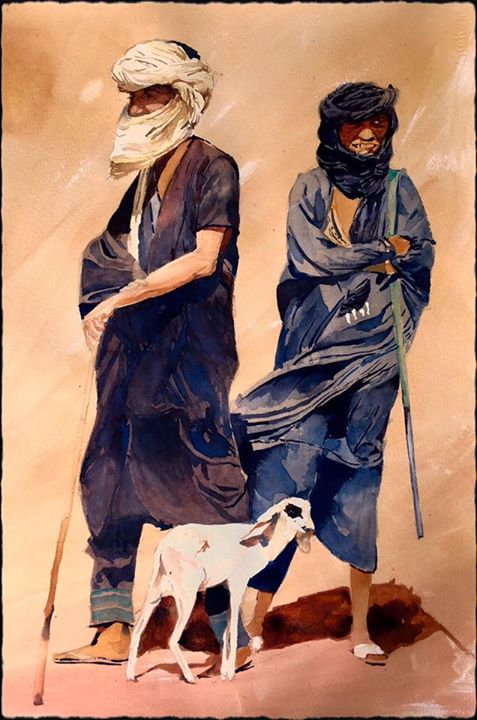 Tuareg shepherds
