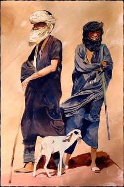 Tuareg shepherds