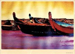Boats (12X16)