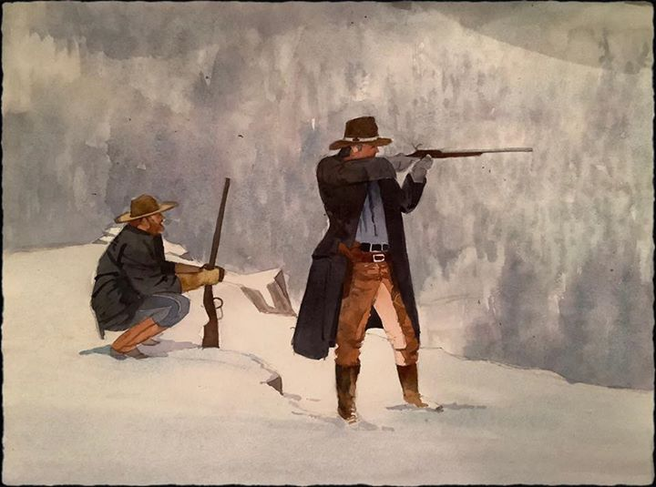 The winter hunt