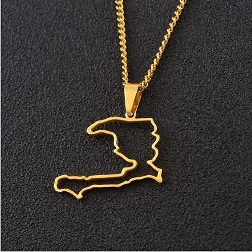 La Perles Des Antilles Silhouette | 14K Gold-Plated | Minimalist Design)