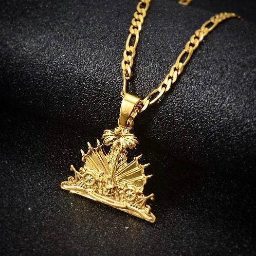 Haiti Emblem Necklace