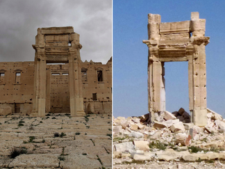 ویرانی یک معبد