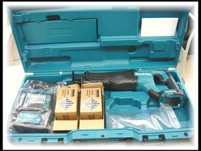 マキタ 充電式レシプロソー JR187DRGX 18V 6.0Ah 買取しました。