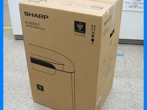 シャープ 加湿空気清浄機 KI-NS70 買取しました。