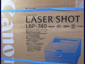 CANON LASER SHOT A3レーザープリンター LBP-740 未使用品 買取しました。