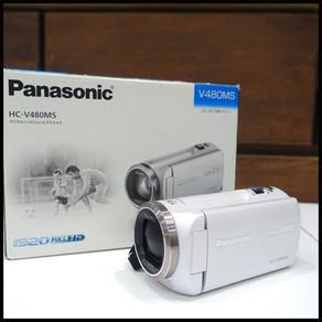 Panasonic デジタルハイビジョンビデオカメラ HC-V480MS 買取しました。