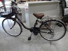 電動アシスト自転車 ビビ BE-ELSX63 買取しました。