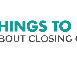 4 Things To Know About Closing Costs