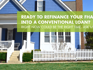 Should You Refinance Your FHA to a Conventional Loan?