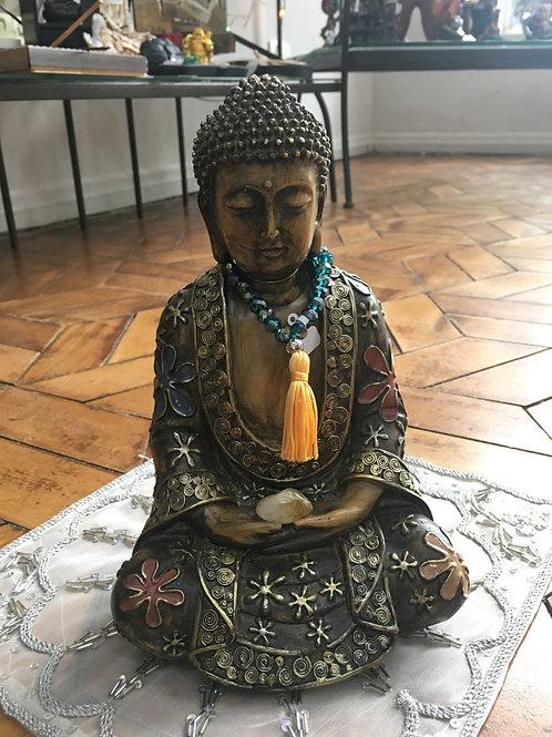 Buda Bronzeado 23cm