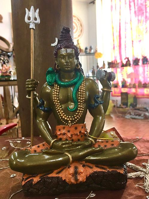 Deus Shiva Bronzeado