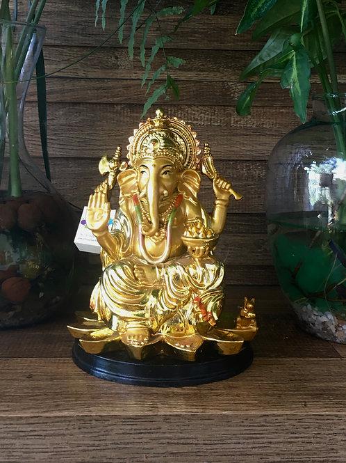 Ganesha Dourado Halo