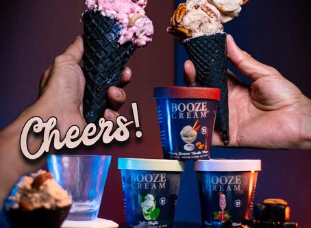 How 16 Proof Alcohol Ice Cream Booze Cream was born