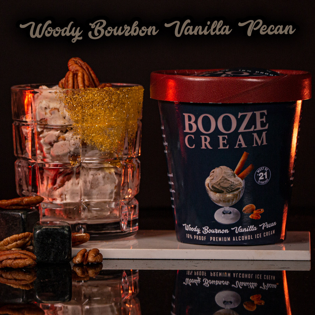 Woody Bourbon Vanilla Pecan made with Four Roses Bourbon