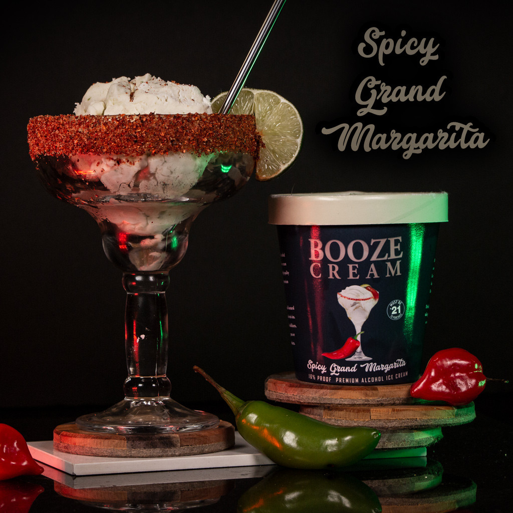 Spicy Grand Margarita made with JOSE CUERVO ESPECIAL TEQUILA