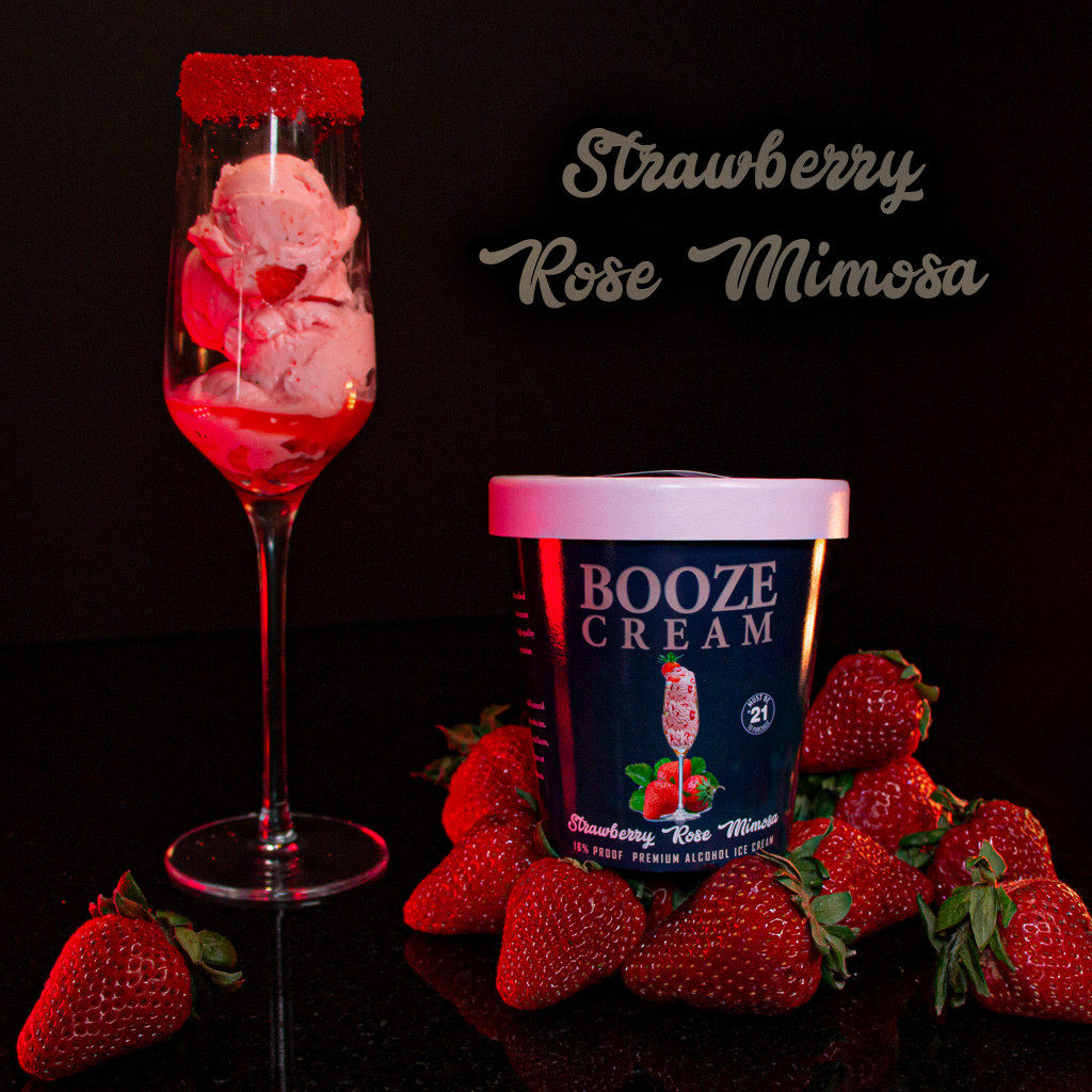 Strawberry Rose Mimosa