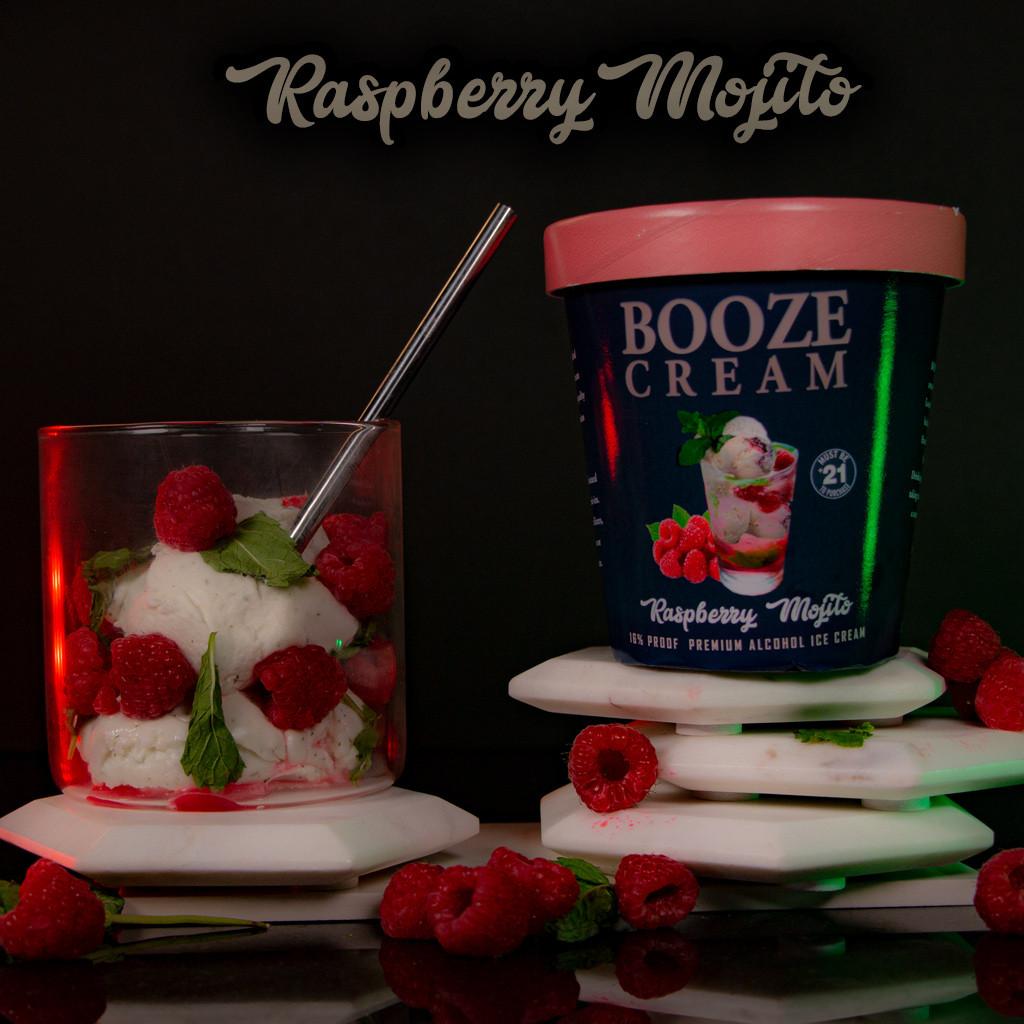 Raspberry Mojito made with BACARDI SILVER WHITE RUM