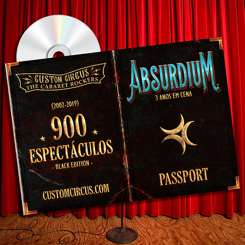 "CD ""Absurdium"" Black Edition"