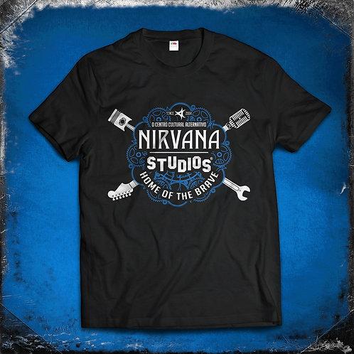 T-Shirt Nirvana Studios Homem