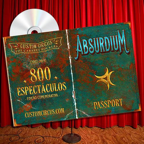 """CD """"Absurdium"""" Vintage"""