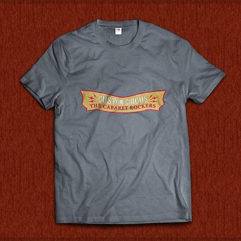 T-Shirt Custom Circus Gold Homem