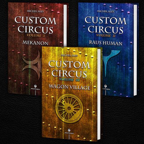Série Custom Circus - Pack 3 Volumes