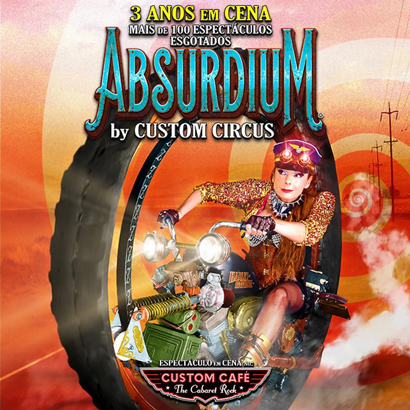 Aniversário 60 anos | Absurdium  14DEZ2019