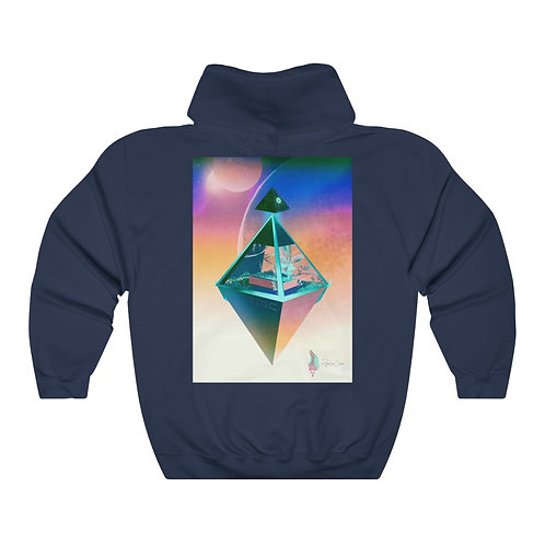 The Last Garden - @SethCGC X @RegalCrowIllustrations Double Sided Unisex Hoodie