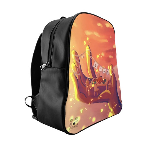 Friendsgiving - @SethCGC X @neithart Unisex Full Print Quality Backpack