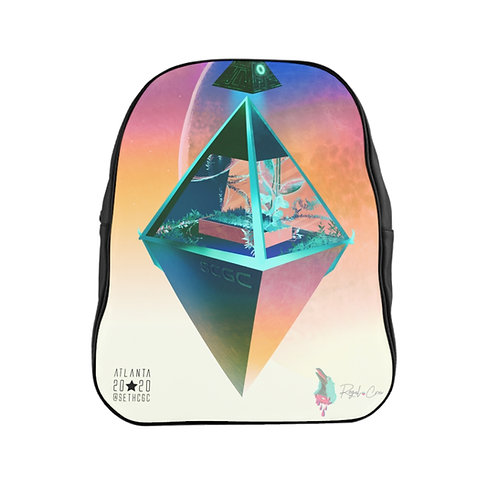 The Last Garden - @SethCGC X @RegalCrowIllustrations Full Print Quality Backpack