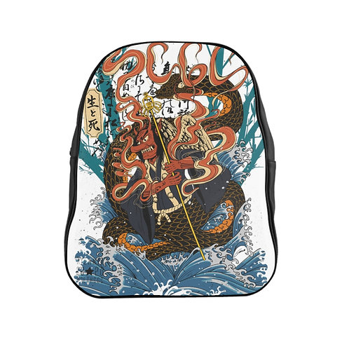 """Tengu """"Heavenly Dog"""" - @SethCGC X @TheGarint Full Print Quality Backpack"""