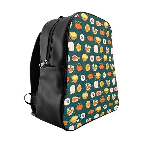 SCGC SumShushi Turquoise - @SethCGC Full Print Quality Backpack