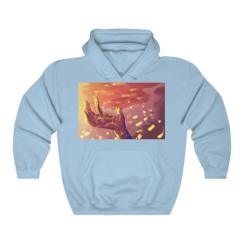 Friendsgiving - @SethCGC X @neith_art Double Sided Unisex College Hoodie