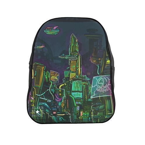 Ready Player S - @SethCGC x @Moshi.Dokyo Unisex Ultra Cotton Backpack