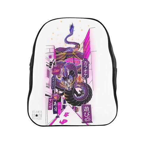 Tokyo Neon - @SethCGC x @TheGarint Full Print Quality Backpack