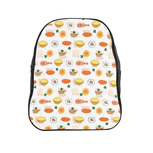 SCGC Sum-Shushi White - @SethCGC Full Print Quality Backpack
