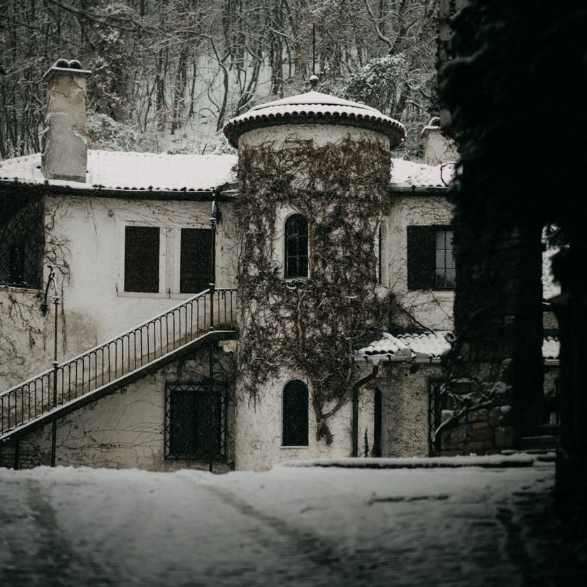 Sorg villa vintage winter wedding inspiration by The Wedding Fox
