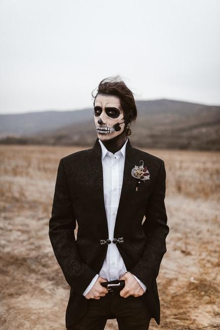 halloween inspired wedding styled shoot | bohemian weddings