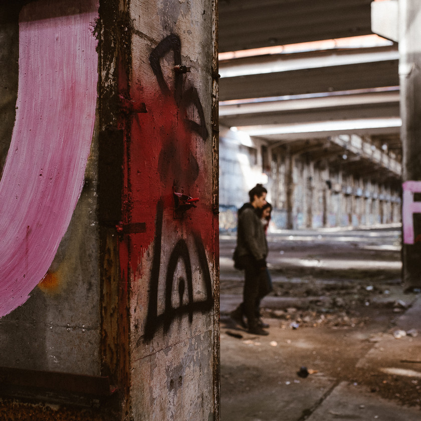 street art in photoshoot by The Wedding Fox Internationa Wedding Photography