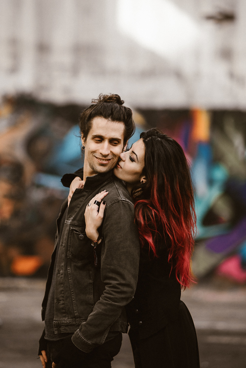 industrial pre-wedding shoot with this rad couple by The Wedding Fox International Wedding Photography