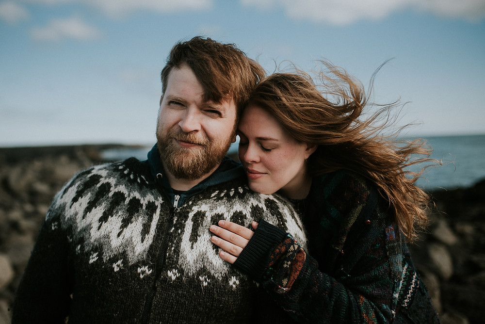 pre-wedding photoshoot in Iceland by destination wedding photographer The Wedding Fox