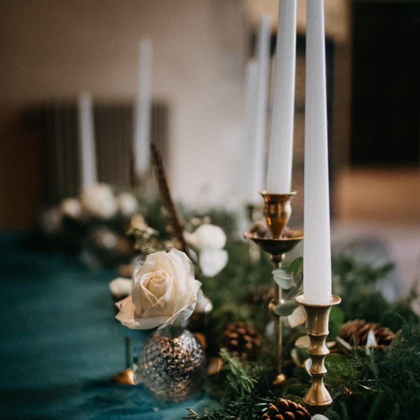 winter wedding decoration ideas