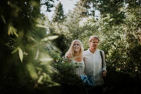 Engagement photoshoot in Gothenburg Bothanical Garden 2
